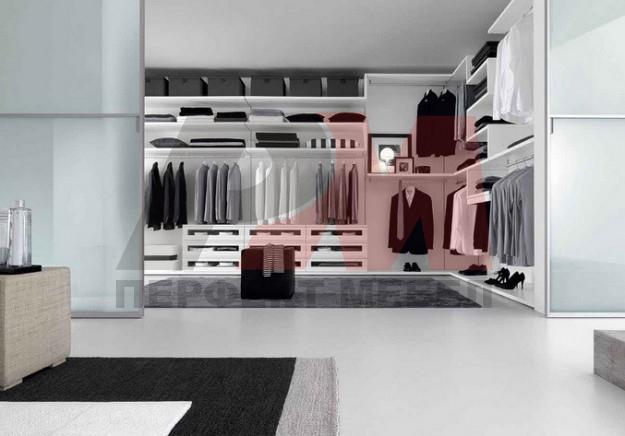 дизайнерски бели гардероби първокачествени