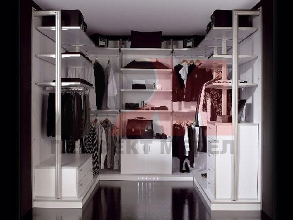 солидни бели гардероби мдф