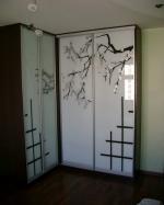 гардероби с принт стъкла по индивидуален размер