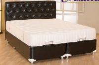 Френско легло с тапицерия 90х200