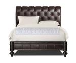 Легло Chesterfield в кафяв цвят