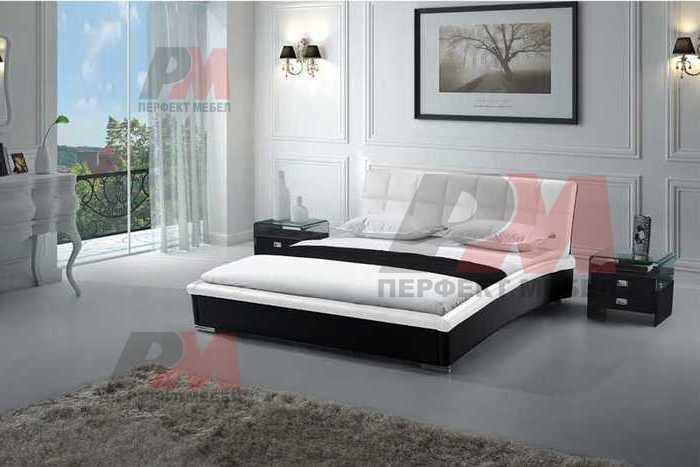 Тапицирани спални с еко кожа
