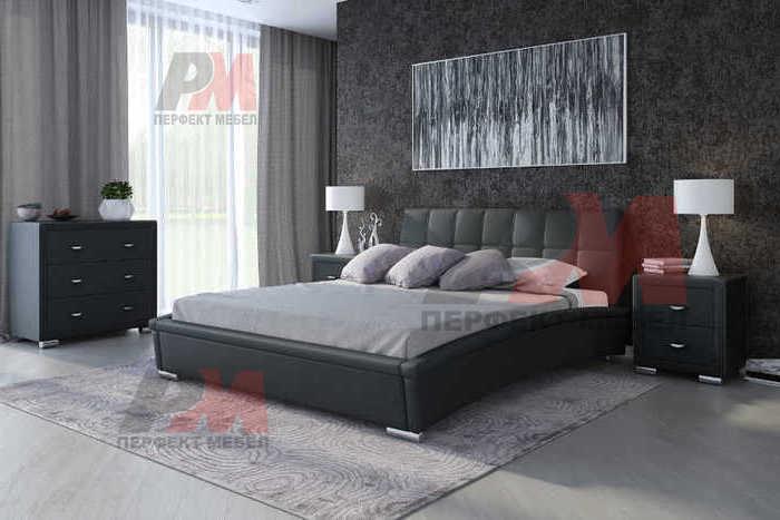 Поръчкови тапицирани спални с еко кожа