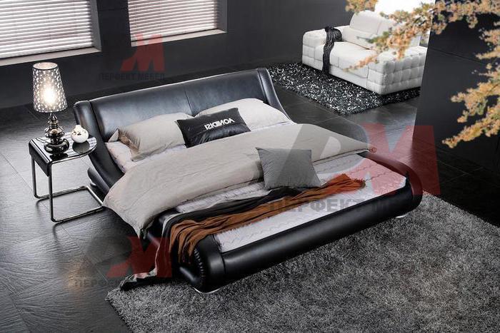 Стилни тапицирани спални с еко кожа